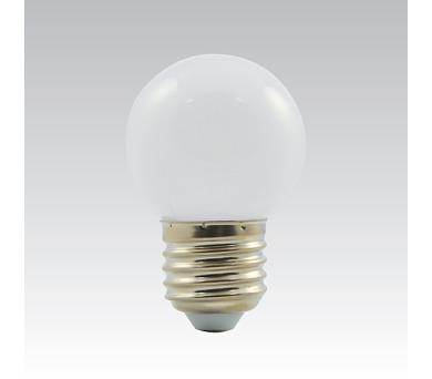 LED G45 1W/010 COLOURMAX E27 bílá IP45 250655010