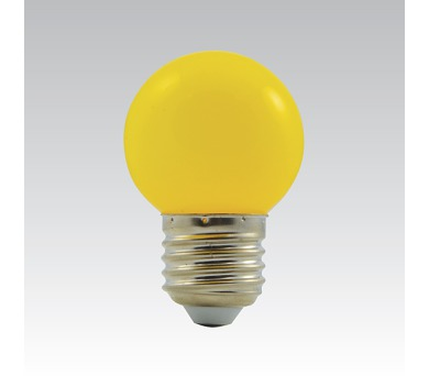 LED G45 1W/016 COLOURMAX E27 žlutá IP45 250655030