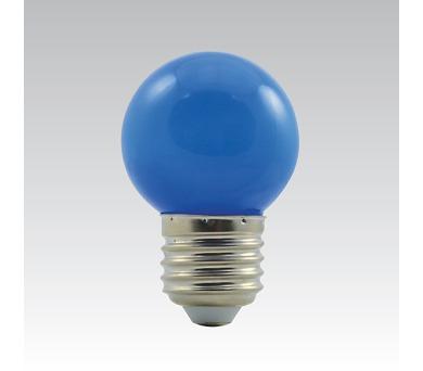 LED G45 1W/018 COLOURMAX E27 modrá IP45 250655050