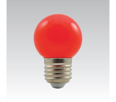 LED G45 1W/015 COLOURMAX E27 červená IP45 250655020
