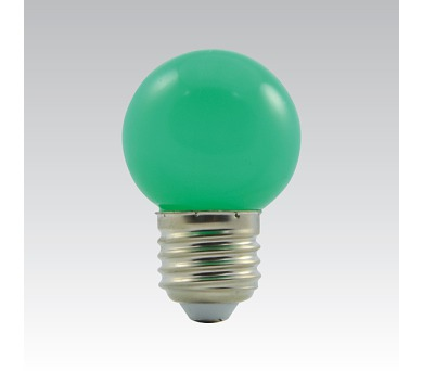 LED G45 1W/017 COLOURMAX E27 zelená IP45 250655020