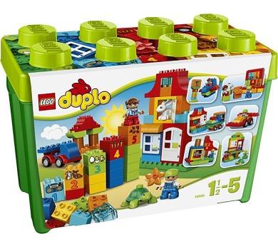 Stavebníce LEGO® DUPLO Kostičky 10580 Zábavný box Deluxe + DOPRAVA ZDARMA