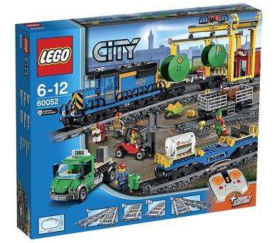 Stavebnice LEGO® CITY 60052 Nákladní vlak + DOPRAVA ZDARMA