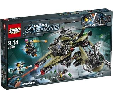 Stavebnice Lego® Ultra Agents 70164 Úder hurikánu