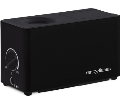 Stylies Atlas - Cestovní ultrazvukový zvlhčovač vzduchu ČERNÝ