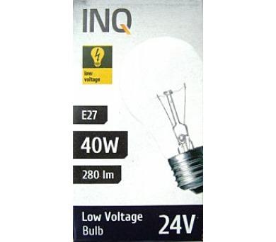 Žárovka INQ 40W E27 24V A54