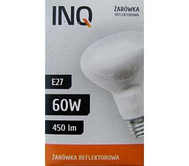 Žárovka INQ R63 60W E27