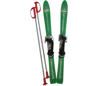 ACRA LSP90-ZE Lyže dětské 90cm zelené