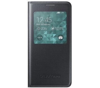 Samsung S-View pro Galaxy Alpha (EF-CG850BB) - černé