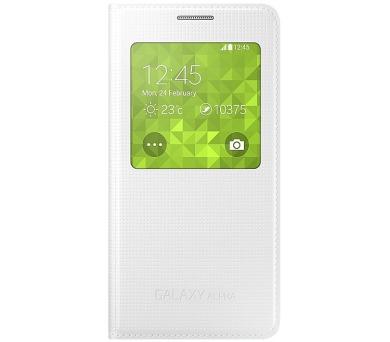 Samsung S-View pro Galaxy Alpha (EF-CG850BW) - bílé + DOPRAVA ZDARMA