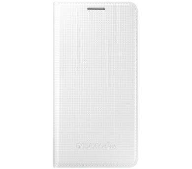 Samsung pro Galaxy Alpha (EF-FG850BW) - bílé