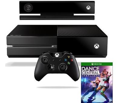 Microsoft Xbox One 500GB Kinect + hra Dance Central Spotlight - černá