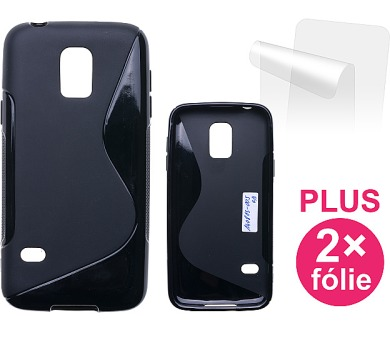 Samsung Galaxy S5 mini + 2ks ochranná fólie - černý