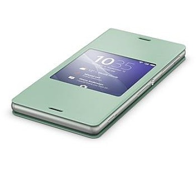 Sony SCR24 pro Xperia Z3 - zelené + DOPRAVA ZDARMA