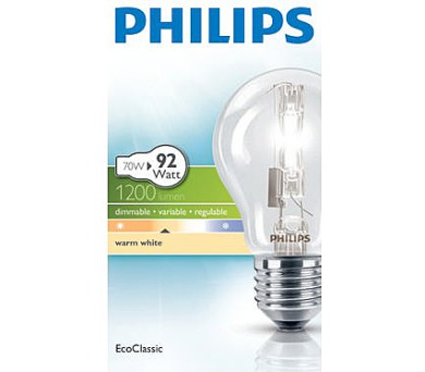 Philips EcoClassic 70W E27 230V A55 CL 1CT/10