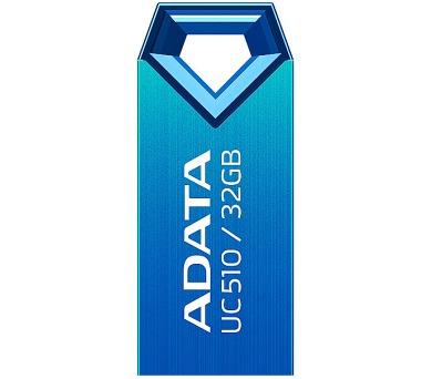 A-Data UC510 32GB USB 2.0 - modrý/kovový