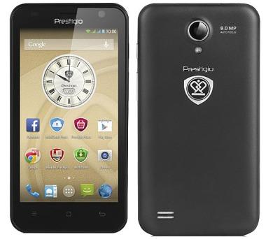 Prestigio MultiPhone PSP3450 DUO - černý + DOPRAVA ZDARMA