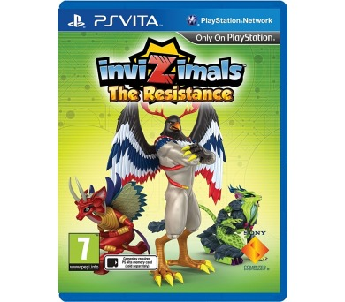 Sony PS VITA Invizimals: The Resistance
