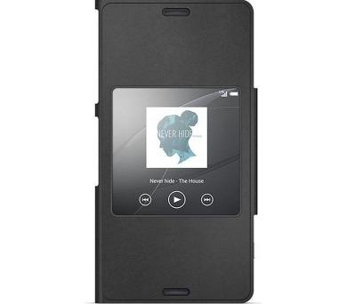 Sony SCR26 pro Xperia Z3 Compact - černé + DOPRAVA ZDARMA