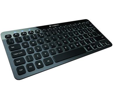 Logitech Bluetooth lluminated K810 US - černá