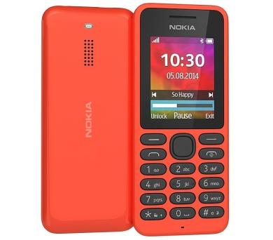 Nokia 130 Dual Sim - červený
