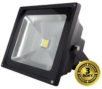LED reflektor SMD 30W černý
