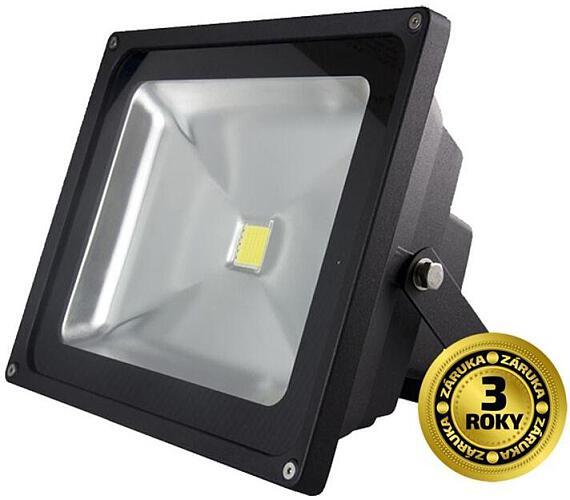 LED reflektor SMD 50W černý
