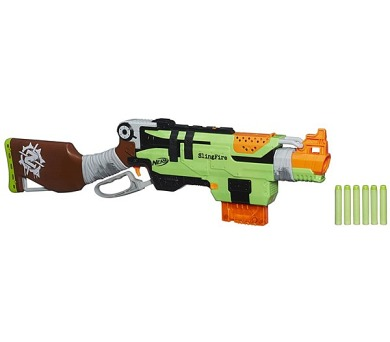 Hasbro Zombie puška s pákovým nabíjením + DOPRAVA ZDARMA