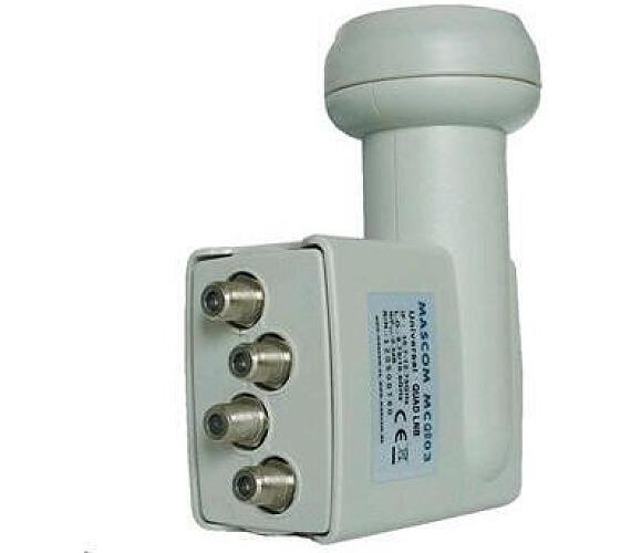 Konvertor LNB MASCOM MC-QS02HD QUAD universal