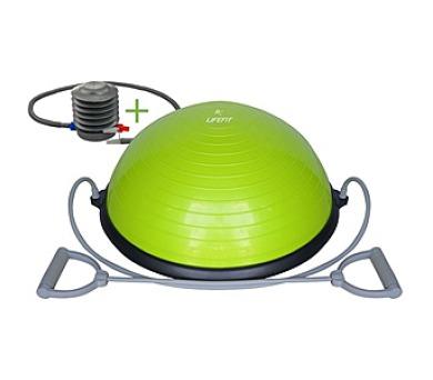 LIFEFIT BALANCE BALL 58 cm + pumpa - zelená + DOPRAVA ZDARMA