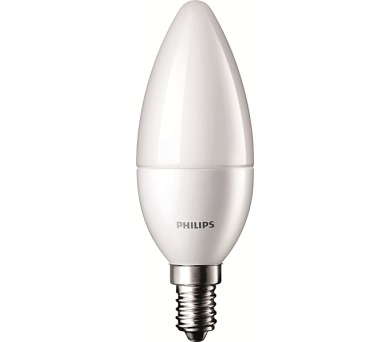 Philips E14 5,5-40W 2700K 230V B35 FR P762386