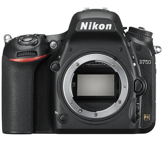 Nikon D750 tělo + ČIŠTĚNÍ ČIPU ZDARMA! + DOPRAVA ZDARMA