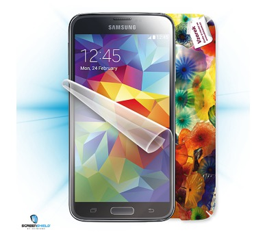 ScreenShield fólie na displej + skin voucher pro Samsung Galaxy S5 G900