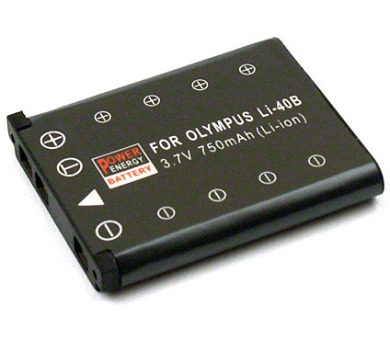 Akumulátor OLYMPUS 3,7V/750mAh LI-40B/42B LI40B PowerEnergyBat.