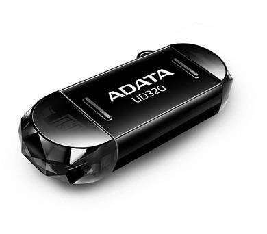 A-Data UD320 32GB OTG USB 2.0 - černý
