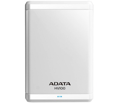 A-Data HV100 1TB - bílý