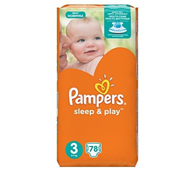 Pampers Sleep & Play 3 MIDI
