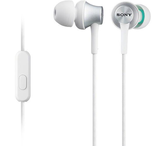 Sony MDREX450APW.CE7 - bílá