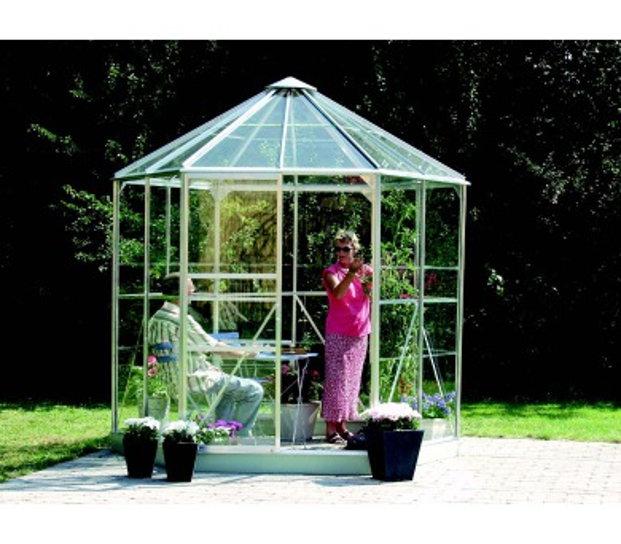 Zahradní pavilon Lanit Plast VITAVIA HERA 4500 stříbrný + DOPRAVA ZDARMA
