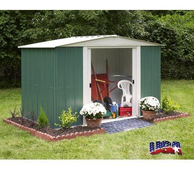 Zahradní domek Lanit Plast ARROW DRESDEN 106 zelený + DOPRAVA ZDARMA
