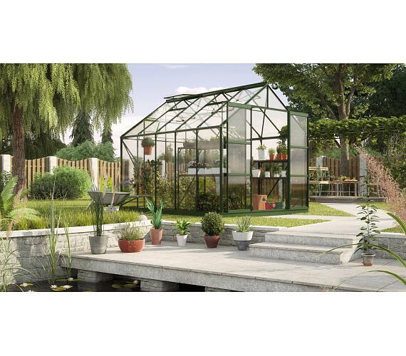 Skleník Lanit Plast VITAVIA URANUS 8300 sklo 3 mm zelený