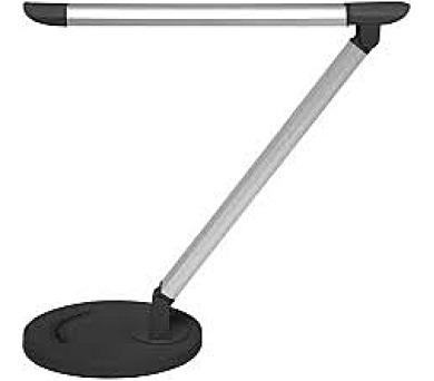 Dotyková stmívatelná stolní led lampa LTZ03 8W černostříbrná LTZ03-CR + DOPRAVA ZDARMA