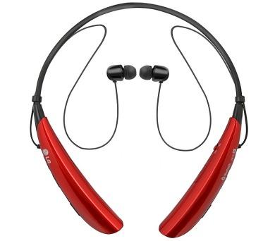 LG HBS 750 Tone Pro bezdrátová - červená + DOPRAVA ZDARMA