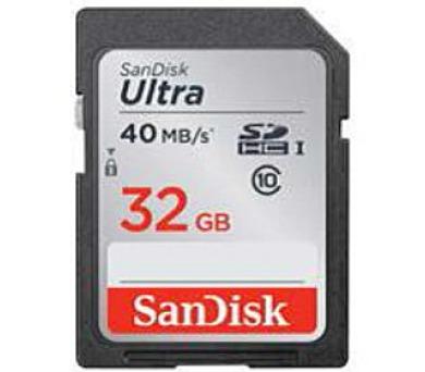 SanDisk SDHC Card Ultra + DOPRAVA ZDARMA