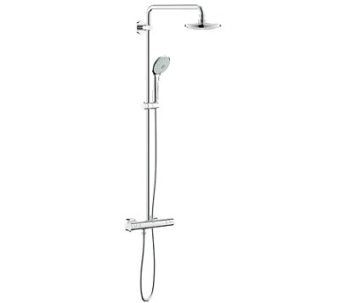 Grohe Euphoria System 180 - sprchový systém s termostatem na zeď (27296001)