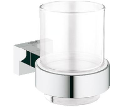 Grohe Essentials Cube - držák skleničky/mýdelníku (40508000)