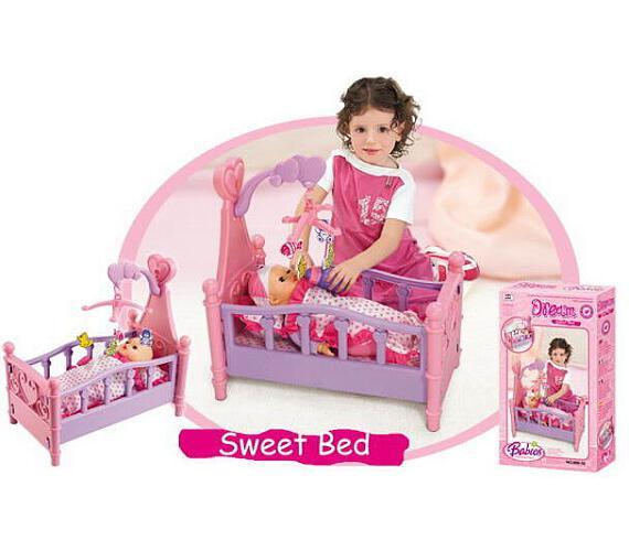 G21 Dětská postýlka pro panenky