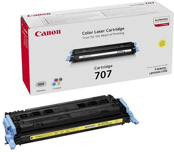 Canon CRG-707Y + DOPRAVA ZDARMA