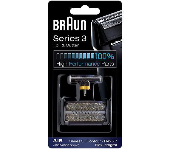 Braun FlexIntegral - 31B černý + DOPRAVA ZDARMA
