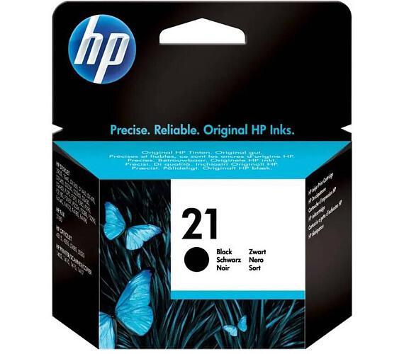 Inkoustová náplň HP No. 21